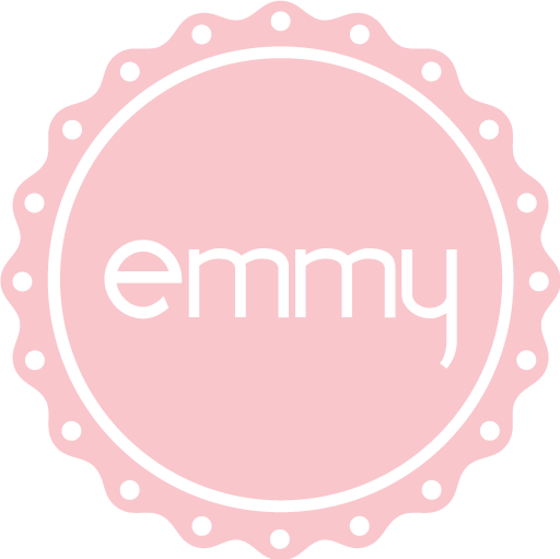433658f52ad1 emmy design - Stickers. The emmy logo cut out. 35 mm. (1,4