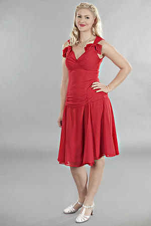 the Havana heartbreaker dress. Red