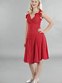 the Havana heartbreaker dress. Red