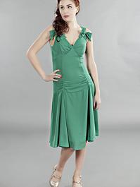 the Havana heartbreaker dress. Green