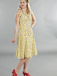 the Havana heartbreaker dress. Yellow flowers