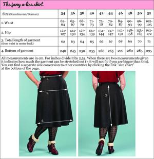 the jazzy A-line skirt. melanged black combed twill
