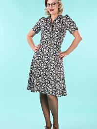 that same old favorite dress. acorns navy