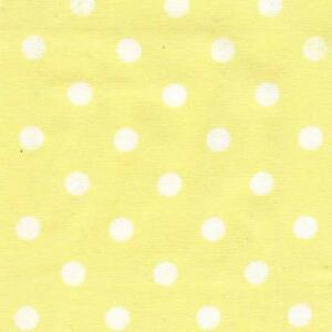 Playful polkadot playsuit. Yellow, dots