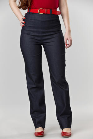 the Peggy Sue pants. thin denim