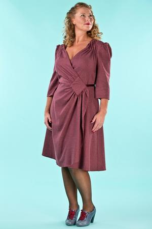 the vintage vixen dress. wine salt & pepper