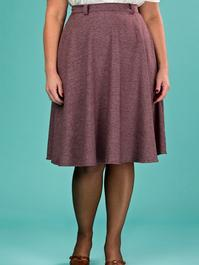 the jazzy A-line skirt. fig salt & pepper
