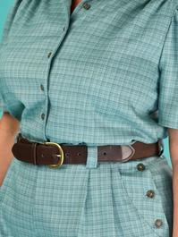 the be my baby belt. brown