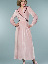 the beautiful boudoir robe. powder pink