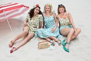 the Malibu Beach dress. vacation mint blue
