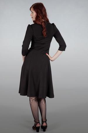 The shim sham sweetheart dress. Black bengaline