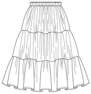 the perfect petticoat. Cream white