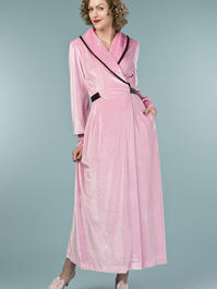 the beautiful boudoir robe. bubblegum