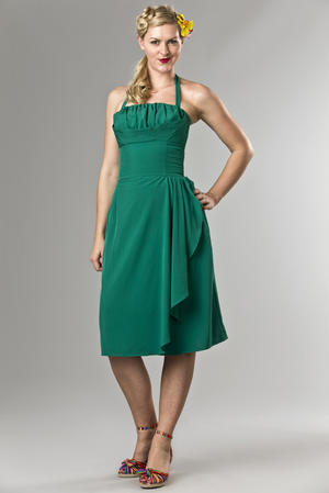 the Honolulu honey dress. green