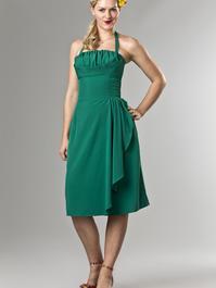 the Honolulu honey dress. green