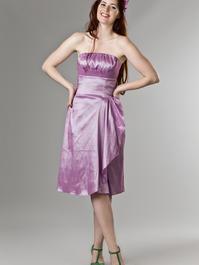 the Honolulu honey dress. shiny lavender