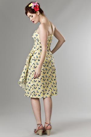 the Honolulu honey dress. vacation yellow