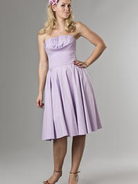 the Honolulu swing dress. lavender