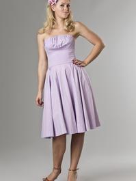 the Honolulu swing dress. lavender