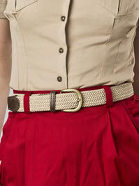 the sweet safari belt. sand