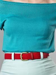 the sweet safari belt. red
