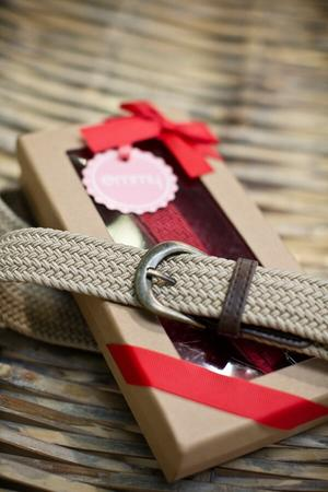 the sweet safari belt. red