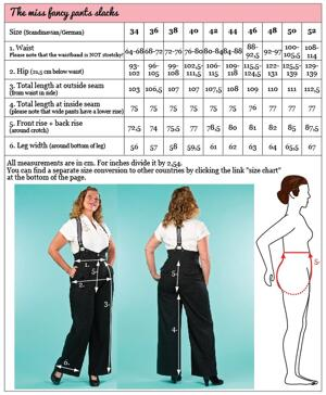 the miss fancy pants slacks. navy salt & pepper