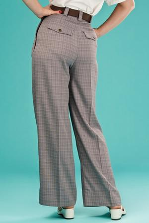 the casual voyager slacks. brown weave
