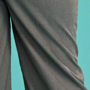 the casual voyager slacks. gray