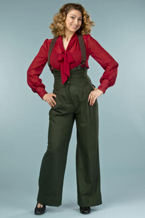 the busy bow blouse. wine chiffon