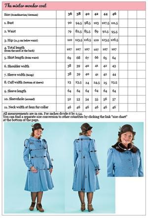 the winter wonder coat. dusty blue